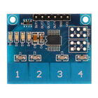 1pc TTP224 4-way Capacitive Touch Switch Module Digital Sensor For Arduino YX