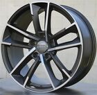 SET4 21X95 5X112 NEW RS7 STYLE WHEELS RIMS AUDI A6 Q5 SQ5 A7 A8 S8 RS7 RS6