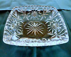 Hazel Atlas Mid Century Glass Prescut Clear Candy Nut Dish Star