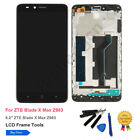 White For Samsung Galaxy Mega 6.3 i9200 LCD Touch Screen Digitizer w/Frame +Tool