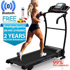 Treadmill Electric Folding Running Machine With Incline XM PRO Dynamic Bluetooth