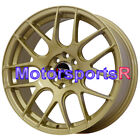 17 XXR 530 Gold Concave Rims Wheels 4x100 03 04 05 06 Scion xA xB 00 Toyota Echo