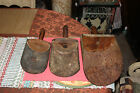 Antique Country Barn Farm Cattle Horse Feed Scoops-3 Pieces-Primitive Americana