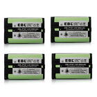 4 x 800mAh Ni MH Cordless Phone Battery For Panasonic HHR P107 HHRP107