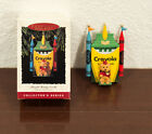 1993 BRIGHT SHINING CASTLE CRAYOLA CRAYON HALLMARK CHRISTMAS ORNAMENT MIB