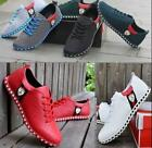 Fashion New Mens Flats Casual Mesh Sneakers Breathable Loafer Shoes