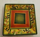 "Tabletops Gallery Retired La Province 1 Square Dinner Plate (8 ¼"") Hand Painted"