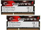 GSKILL Ripjaws Series 16GB 2 x 8G 204 Pin DDR3 SO DIMM DDR3L 1600 PC3L 12800
