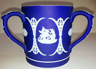 Wedgwood- Dark Blue 3 Handled