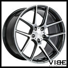 19 ACE AFF02 FLOW FORM GREY CONCAVE WHEELS RIMS FITS LEXUS GS300 GS400 GS430