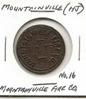 Trade Token - Mountainville (NJ) Fire Co. No.16