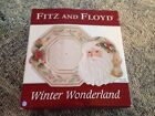 Fitz and Floyd ~ Winter Wonderland ~ Plate and Server Set