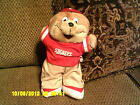 """ SHONEY'S Restaurant Plush Promotional BEAR w/ Outfit *"