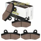 Caltric Front Brake Pads for Hyonsung GT650 GT650TTC GT650R 2005-2016