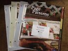 Creative Memories Scrapbooking Lot Page Patterns Leaflets Brochures Booklets NEW