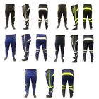 Rhinox Men Skinny Soccer Pants Training Sweat Sport Gym Athletic Relax fit
