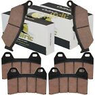 FRONT & REAR BRAKE PADS Fits MOTO-GUZZI California Special 1100 1999 2000 2001