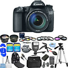 Canon EOS 70D DSLR Camera with 18 135mm Lens ALL YOU NEED BUNDLE BRAND NEW