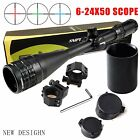 FSI Sniper 6 24x50mm Scope W front AO adjustment Red Blue green mil dot Comes