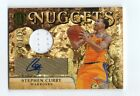 STEPHEN CURRY STEPH 2011 PANINI GOLD STANDARD AUTOGRAPH AUTO JERSEY CARD #73 99!