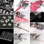 32/42Pcs Domestic Sewing Machine Presser Foot Feet Kit Set For Brother/Janome