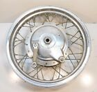 83 SUZUKI GR 650 TEMPTER TAKASAGO REAR BACK SPOKE RIM WHEEL BRAKE HUB 16X2.50OEM