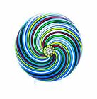 SAINT LOUIS LIMITED EDITION 1971 FIVE-COLOUR SWIRL PAPERWEIGHT