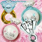 HUGE RINGS Engagement Wedding Foil Balloons I Do Bridal Shower Party Supplies