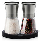 Sterline Premium Salt and Pepper Mill Manual Grinder Set Stainless Steel