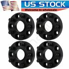 4X For Jeep Wrangler JK 5x5 Sahara Rubicon Sport 125 Thick Black Wheel Spacers