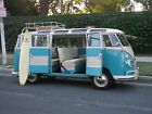 1963 Volkswagen Bus Vanagon Deluxe Trim 1963 VW German Bus 23 Window Rag Top
