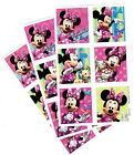 3 NEW SHEETS Disney MINNIE MOUSE Scrapbook Stickers Clubhouse Bow tique