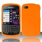 For Blackberry Q10 ATT Sprint T Mobile Verizon Silicone Case Cover Orange