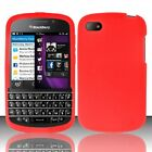 For Blackberry Q10 ATT Sprint T Mobile Verizon Silicone Case Cover Red