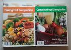Weight Watchers COMPLETE FOOD  DINING OUT COMPANION BOOKS January 2006 edition