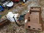 skid steer bobcat case gehl 15C Hydraulic Auger comes with 3 augers