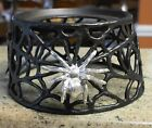 New POTTERY BARN SPIDER WEB Drink Dispenser Stand