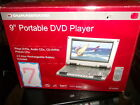 9 INCH PORTABLE DVD PLAYER FROM (DURABRAND) PLAYS DVDS, AUDIO CDS, CD-R/RW