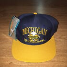 VTG Michigan Wolverines Snapback Hat NWT New One Size Fits All