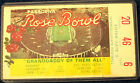 1979 Rose Bowl Ticket USC Vs Michigan seat 6