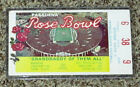 1979 Rosebowl Ticket USC Vs Michigan Football seat 9