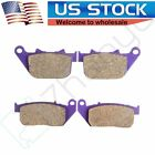 Front and Rear Carbon fiber Brake Pads for HARLEY DAVIDSON XL 883 IRON XL 883