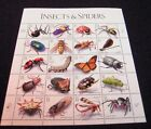 3351 INSECTS  SPIDERS NATURE1999 MINT PANE OF 20 33 CENT STAMPS CV 2800