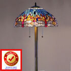 Tiffany Style Lamp Tiffany Style Dragonfly Floor Lamp Handmade Stained Glass