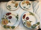 Lot 4 Pier 1 Sunflower Fields Dinner Plates  Sandwich Plates Deep Dish