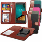 For NNokia Lumia 720 - Fabric Mix Clip Function Wallet Case Cover
