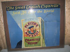 Players Navy Cut Vintage Tobacco Sign WWII Cigarettes 1945 Rare