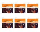 DAddario EJ65B Pro Arte Custom Extruded Baritone Ukulele Strings 6 Pack