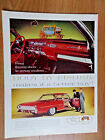 1961 Oldsmobile 98 Ninety Eight Holiday Coupe Ad Body by Fisher