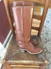COOL Vtg NOS Womens FRYE American Classics Brown Riding Boots Size 75 80s Mod